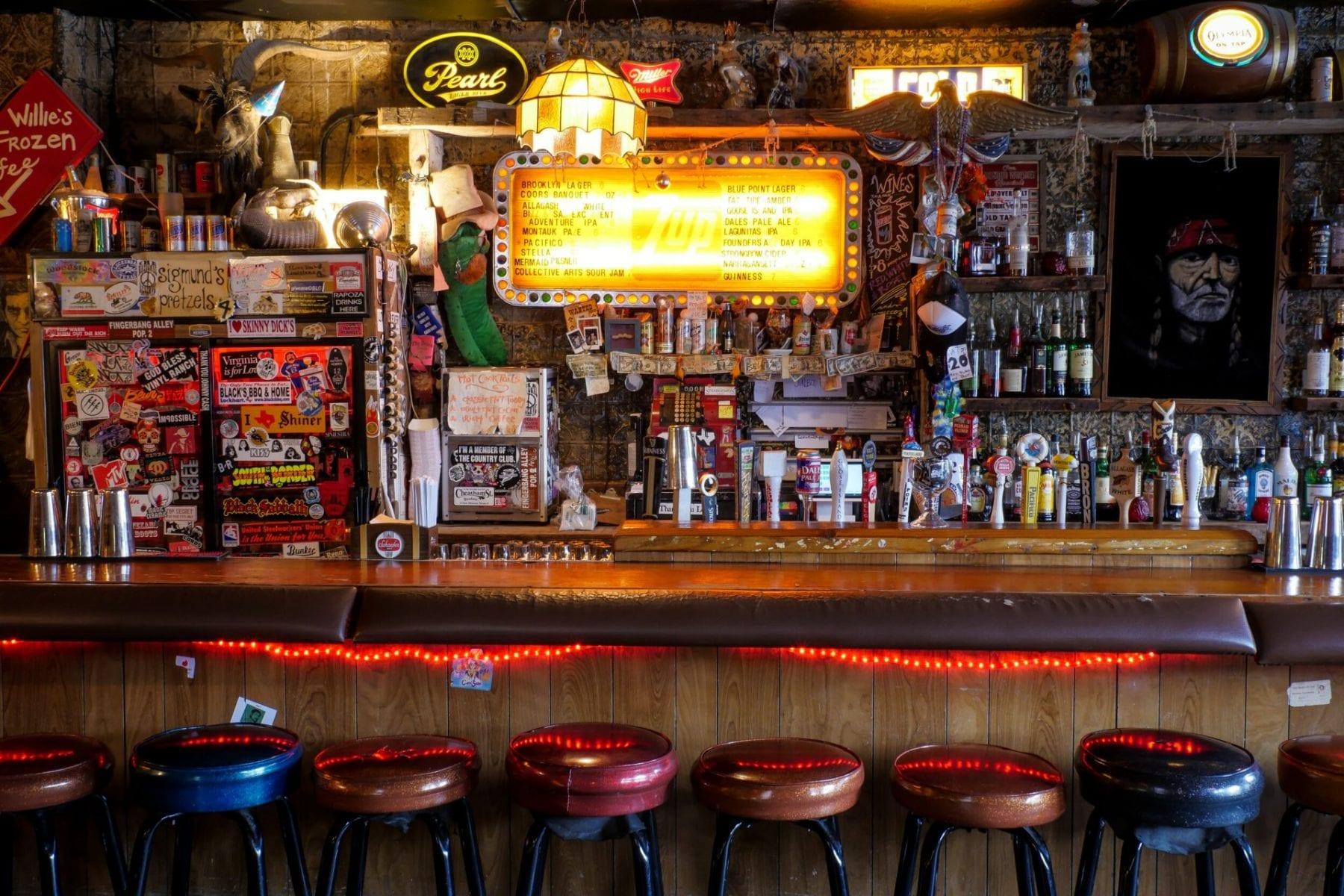 Skinny Dennis Bar in Brooklyn, New York City